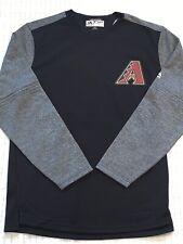 Arizona Diamondbacks Majestic MLB On-Field Tech Sweatshirt -Men's (M) MEDIUM new