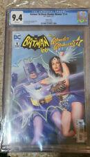 BATMAN 66 Meets WONDER WOMAN 77 # 1  ~ Adam West Lynda Carter ALEX ROSS CGC 9.4