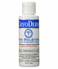 CRYODERM Pain Relief Cold Therapy GEL - 4 Oz