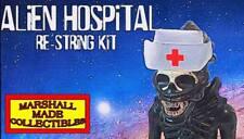 """1979 Kenner 18"""" ALIEN RESTRING KIT! In Custom Package From Alien Hospital"""