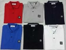 Stone Island Men's Regular No Pattern Casual Shirts & Tops