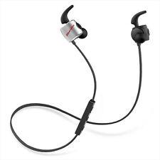 Bluedio Te Bluetooth 4.1 Wireless Sweatproof Sport Earphones Headsets Black