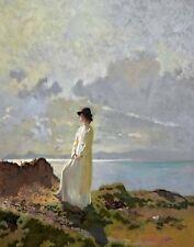 Orpen William InThe Cliffs Dublin Bay Morning Print 11 x 14 #5398
