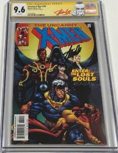 Marvel Uncanny X-men #382 Signed by Stan Lee CGC 9.6 SS Red Label
