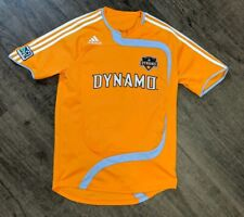 Vintage rare Adidas sample Houston Dynamo Major League Soccer Jersey 07-08 Med