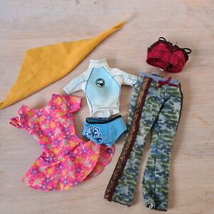 Barbie Doll Clothes  Causal outfits. V.G.C preloved.