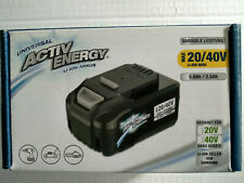 Activ Energy  LI-ION Akku 20/40 Volt 5,0Ah/2,5Ah 90Wh Für Ferrex Geräte NEU