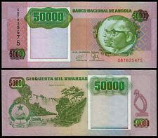 ANGOLA 50000 KWANZAS (P132) 1991 UNC