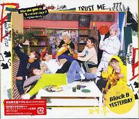 BLOCK B-YESTERDAY (JAPANESE VERSION) (TYPE-B)-JAPAN CD+BOOK Ltd/Ed D13