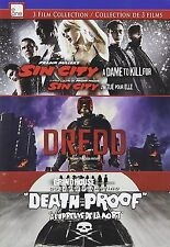 New - Sin City: A Dame To Kill For/Dredd/Death Proof Dvd Triple Feature