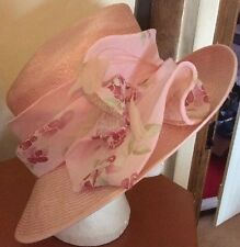 Gorgeous Pink Wedding Hat By Jacques Vert BNWT Races REDUCED !