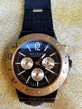 Original Bvlgari watch model Aluminum SD38S AS-IS