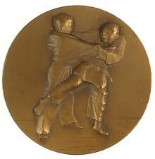 France sports JUDO AWARD bronze 50mm