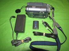 Sony Handycam CCD-TRV128 Hi8 Analog Camcorder - Record Transfer Watch Hi 8 Tapes