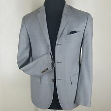 POLO RALPH LAUREN MADE IN ITALY GRAY BLAZER 3 BTN. CENTER VENT 38 S-FIT36 SHORT