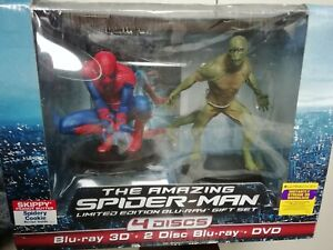 The Amazing Spider-Man Limited Edition 3D Blu-Ray Gift Set Collectors New Sealed
