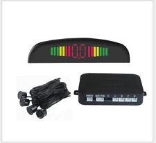 Car Parking Rear Reverse 4 Sensors Kit Buzzer Radar LED Display Alarm System