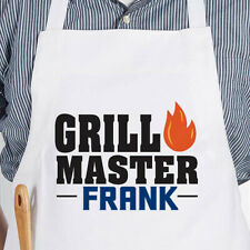 Custom Personalized Chef Kitchen Apron Smock Grill Master YOUR NAME