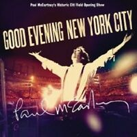 "PAUL MCCARTNEY ""GOOD EVENING NEW YORK CITY"" 2 CD+DVD"