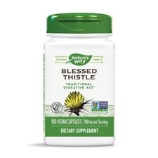 Nature's Way Blessed Thistle 390mg 100 Veg Capsules Indigestion Heartburn
