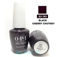 OPI GELCOLOR Soak Off Nail Polish GC I43 Black Cherry Chutney 0.5floz New Bottle