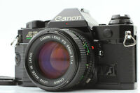 [EXC+++++] Canon AE-1 Program AE-1P 35mm SLR w/ NFD New FD 50mm f/1.4 from JAPAN