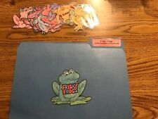 Frisky Frogs singular plural nouns language Centers File Folder Games 2nd