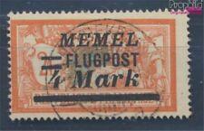 zona del Memel 104 usado 1922 Correo aéreo (8062900