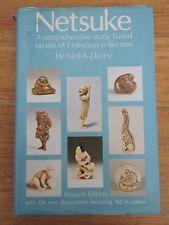 Sothebys Japanese art reference book NETSUKE Hindson Collection by Neil K. Davey