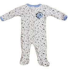 0-3 MO Baby Boy Zipper Infant Sleeper NWT Rocket Ship Newborn All Day Outfit NEW
