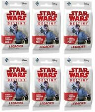 x6 Star Wars Destiny - Legacies - Booster Pack-Factory Sealed