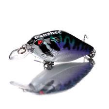 Crankbaits Fishing Lure Rattle Sound Wobbler Artificial Hard Bait 2.3'' 0.32oz