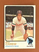 1973 Topps Rod Carew Card #330 NM - Twins HOF