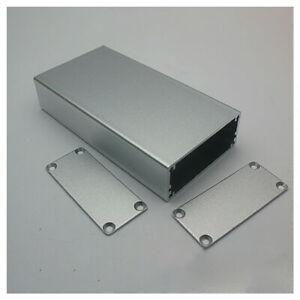 110*57*24mm PCB Enclosure DIY Electronic Case Silver Aluminum Instrument Box