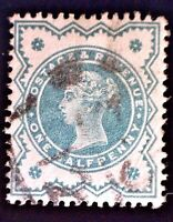 CatalinaStamps: Great Britain Stamp #125 Used, SCV=$2.25, #A-2