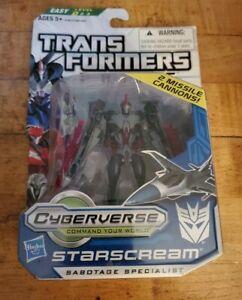 Transformers Prime Cyberverse Commander Class Starscream NIP