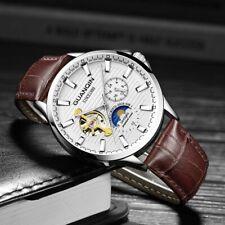 Armbanduhr Herren mechanisch Automatik Guanqin Silber