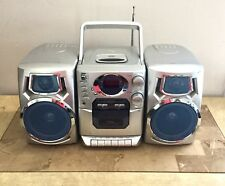 CD Stereo Tape Player Cassette Portable Boombox Durabrand CD-1493 Great Sound 🔊