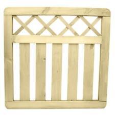 3 ft (approx. 0.91 m) X 3 ft (approx. 0.91 m) Cross superior de madera jardín portón presión tratados peatonal Gates