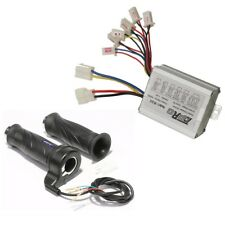 24V 500W DC Brush Motor Speed Controller & Throttle Twist Grip Electric Scooter