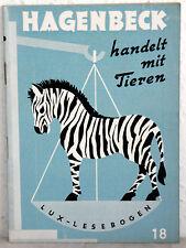 Lux-Lesebogen 18 - HAGENBECK HANDELT MIT TIEREN