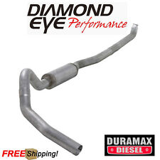 Diamond Eye 4 Inch Turbo Back Exhaust 01-07 Silverado 6.6L Duramax W/ Muffler