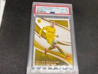 2020 Panini Immaculate Dortmund Erling Haaland /50 Bronze Rookie RC PSA 8 #51