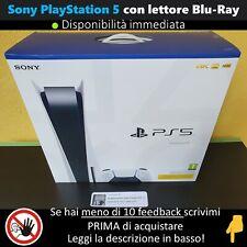 Sony PlayStation 5 PS5 con Lettore Disco   NUOVA SIGILLATA, Disponibile ✔ PAYPAL