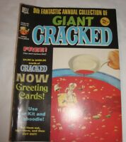 9TH ANNUAL GIANT CRACKED MAGAZINE 1973 SNOW WHITE JOHNNY CASH PLANET OF THE APES