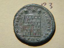 Rome Constantinvs,'Campgate',Constantine II 325-326 AD,Roman Bronze Coin