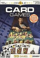 Sierra Hoyle 33 Card Games for PC ~ Win 98/ME/2000/XP NEW in Box ~FREE SHIPPING