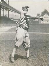 "1915 Ray Schalk, Chicago White Sox, Original Type 1 Photo, 7.5"" x 10"""