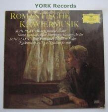 DG 135 012-Schumann/Schubert-música de piano romántica varios-ex Disco Lp