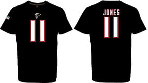 NFL T-Shirt Atlanta Falcons Julio Jones 11 Black Jersey Redburn Football